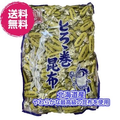 北海道産 とろろ昆布 40g×10袋 (とろろ昆布×10P) 送料無料 珍味 個包装