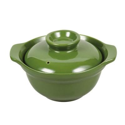 レンジシェフ ご飯も炊けるどんぶり(グリーン)1合用 L-1928