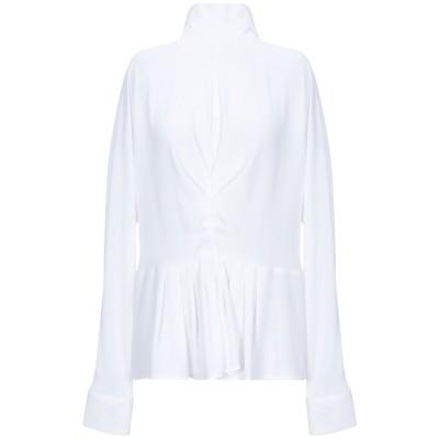 GABARDINE ブラウス ホワイト XL ポリエステル 100% ブラウス