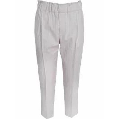 Brunello Cucinelli レディースパンツ Brunello Cucinelli Cropped Trousers