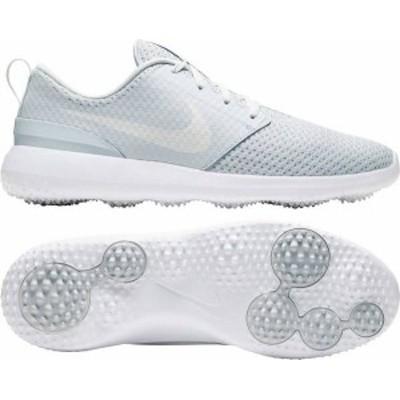 ナイキ メンズ スニーカー シューズ Nike Men's 2021 Roshe G Golf Shoes Platinum/White/White