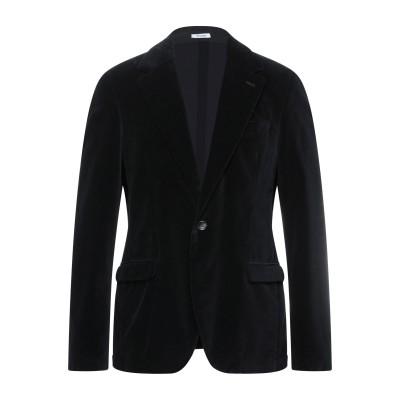 OFFICINA 36 テーラードジャケット ブラック 52 コットン 74% / レーヨン 25% / ポリウレタン 1% テーラードジャケット