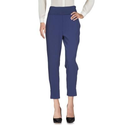 マニラ グレース MANILA GRACE パンツ ブルー 38 ポリエステル 89% / ポリウレタン 11% パンツ