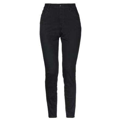 DKNY パンツ ブラック 31 コットン 80% / ポリエステル 18% / ポリウレタン 2% パンツ