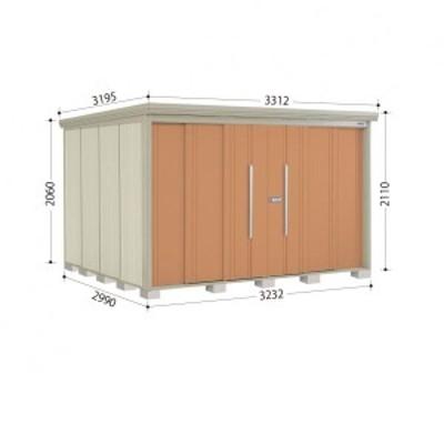 物置 屋外 おしゃれ タクボ物置 ND/ストックマン 側面棚 ND-3229Y 一般型 標準屋根 『追加金額で