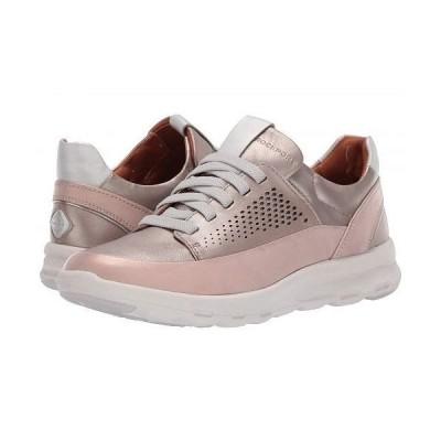 Rockport ロックポート レディース 女性用 シューズ 靴 スニーカー 運動靴 Let's Walk Slip-On - Dove/Rose