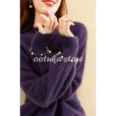 ニットセーター レディース 2色 秋冬 40代 20代 長袖 トップス 丸襟 ニットソー セーター カットソー ニットウェア 大きいサイズ 暖かい おしゃれ 着痩せ 新品