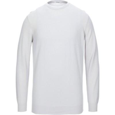 カングラ カシミア KANGRA CASHMERE メンズ ニット・セーター トップス sweater Light grey