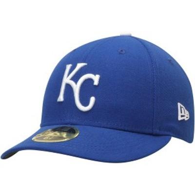 ニューエラ メンズ 帽子 アクセサリー Kansas City Royals New Era Game Authentic Collection On-Field Low Profile 59FIFTY Fitted Hat