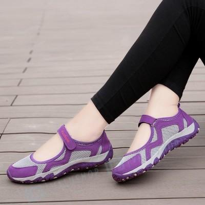 歩きやすい スニーカー シューズ レディース 運動靴 中高年 滑り止め 靴 疲れない 旅行