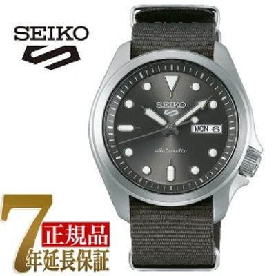 セイコー5スポーツ 自動巻き 手巻き付き 腕時計 流通限定モデル SBSA051
