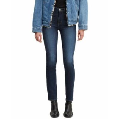 リーバイス レディース デニムパンツ ボトムス Women's 724 Straight-Leg Jeans Carbon Glow