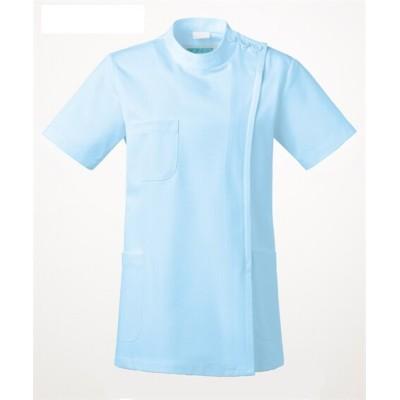 263 KAZEN レディス医務衣 半袖 ナースウェア・白衣・介護ウェア