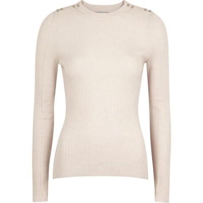 スリーワン フィリップ リム 3.1 Phillip Lim レディース ニット・セーター トップス blush ribbed merino wool-blend jumper Pink