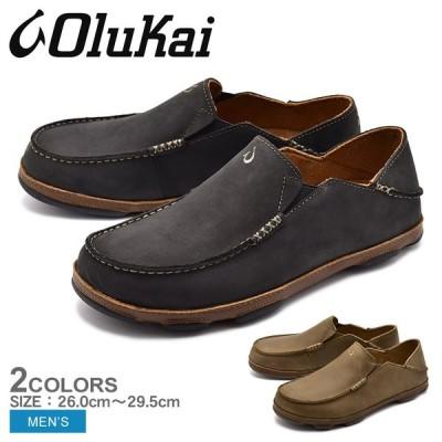 ( 5のつく日 ) スリッポン モロア MOLOA 10128 メンズ ハワイ ブランド シンプル シューズ 靴 OLUKAI オルカイ