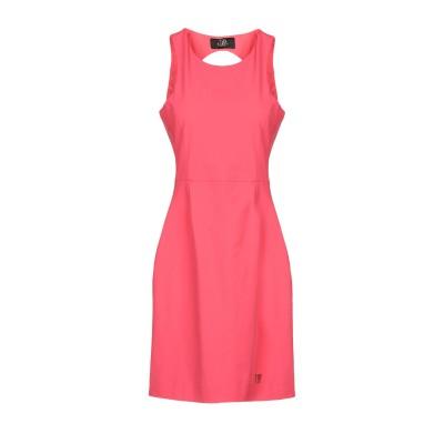 VDP CLUB ミニワンピース&ドレス コーラル 42 コットン 47% / ナイロン 44% / ポリウレタン 9% ミニワンピース&ドレス