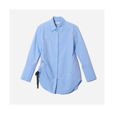 R-ISM/リズム サイドドロストシャツ ブルー 4