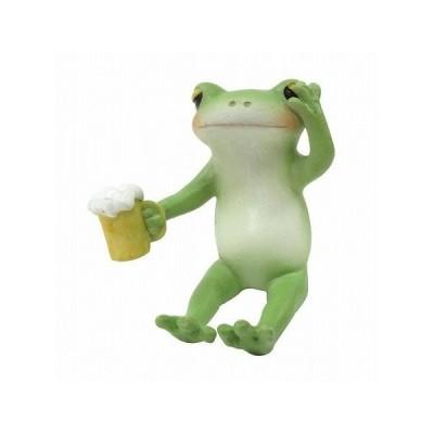 コポー ほろよいのカエル 置物 小物 オブジェ カエル 置き物  蛙 フロッグ FROG 70554