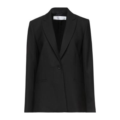 VICTORIA, VICTORIA BECKHAM テーラードジャケット ブラック 4 ポリエステル 53% / バージンウール 43% / ポリ