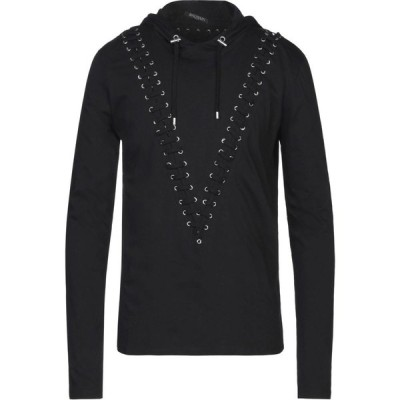 バルマン BALMAIN メンズ Tシャツ トップス t-shirt Black