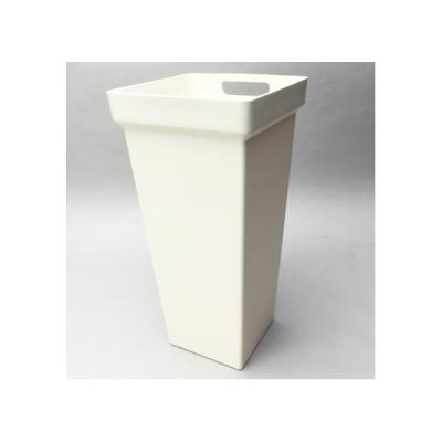 セロン 手持ち花桶角型M アイボリー F0637 アイボリー 花器 花瓶 花桶 花筒 バケツ