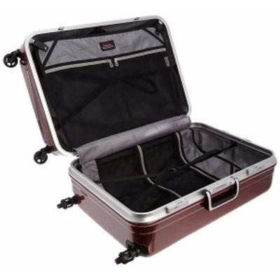 【容量:約82L】アタッシュケース スーツケース【レッドカーボン】 送料無料「軽く、静かに、大容量」をテーマに高級カーボンフィルムを