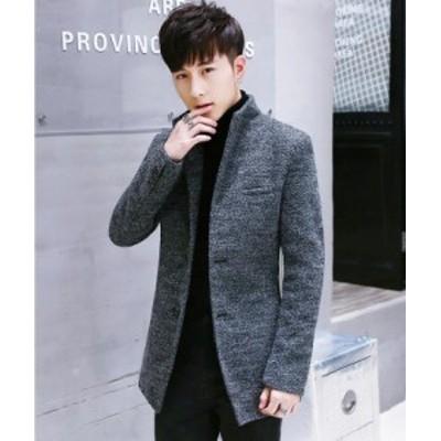 秋冬新品★ハイエンド メンズ 長袖ジャケット ラシャコート OL通勤 結婚式 大きいサイズ M~5XL