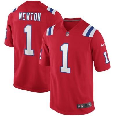 NFL キャム・ニュートン ペイトリオッツ ユニフォーム/ジャージ オルタネイト ゲーム ナイキ/Nike レッド