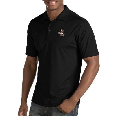 アンティグア メンズ ポロシャツ トップス NCAA Inspire Short-Sleeve Polo Shirt Florida State Seminoles Black