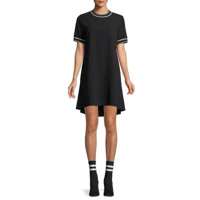 ラグアンドボーン レディース ワンピース トップス Crewneck Short-Sleeve Crepe Dress