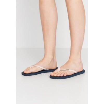 ロキシー サンダル レディース シューズ VIVA TONE  - Pool shoes - navy