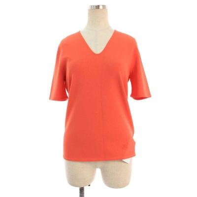 バーバリーロンドン Tシャツ カットソー Vネック ストレッチ 半袖 2