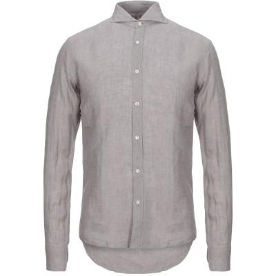 GMF 965 シャツ グレー 43 リネン 100% シャツ