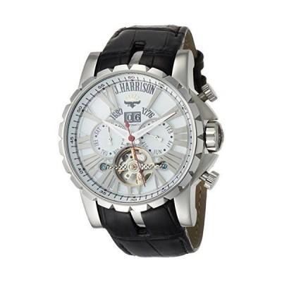 [ジェ・ハリソン] 腕時計 JH-033SW メンズ 正規輸入品 ホワイト