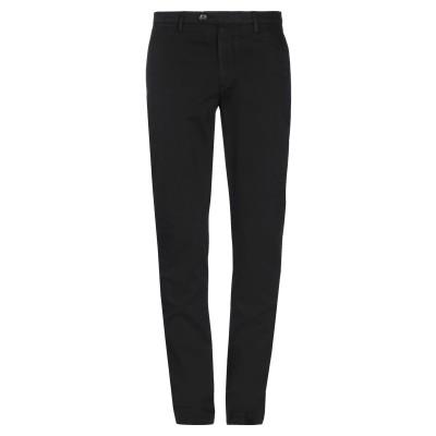 CORNELIANI ID パンツ ブラック 52 コットン 98% / ポリウレタン 2% パンツ