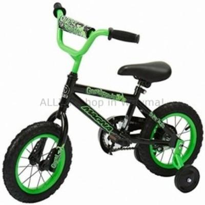 BMX ダイナクラフトマグナグラベルブラスターボーイズBMXストリート/ダートバイク12、ブラック/グリーン  Dynacraft