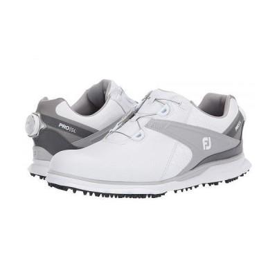 FootJoy フットジョイ メンズ 男性用 シューズ 靴 スニーカー 運動靴 Pro SL - White/Grey 1