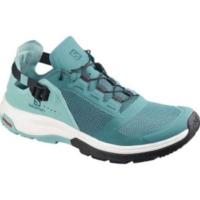 サロモン レディース ブーツ・レインブーツ シューズ Salomon Women's Tech Amphib 4 Shoe Hydro/Nile Blue/Poseidon
