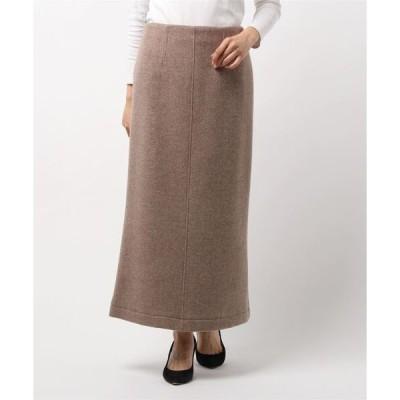 スカート バックスリットウールスカート