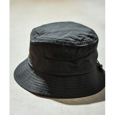 WEST CLIMB / 【WILD THING】SUPPLEX POCKETABLE BUCKET HAT MEN 帽子 > ハット