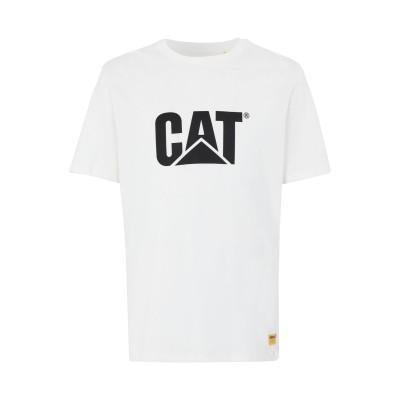CATERPILLAR T シャツ アイボリー L コットン 100% T シャツ