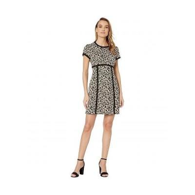 Nanette Lepore ナネットレポー レディース 女性用 ファッション ドレス Shimmy Shift - Leopard Multi