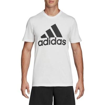adidas アディダス M MUSTHAVES BADGE OF SPORTS Tシャツ メンズ 半袖Tシャツ ホワイト DT9929