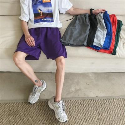 メンズ  ショートパンツ ハーフパンツ カーゴパンツ 短パン 無地 カジュアル 運動着 男子ボトムス