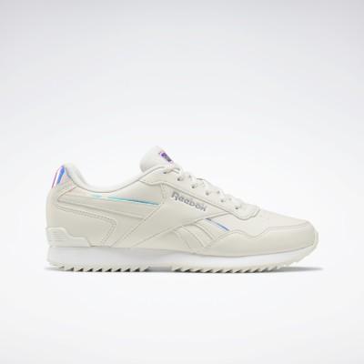 リーボック Reebok リーボック ロイヤル グライド リップル グリップ / Reebok Royal Glide Ripple Clip Shoes (ホワイト)