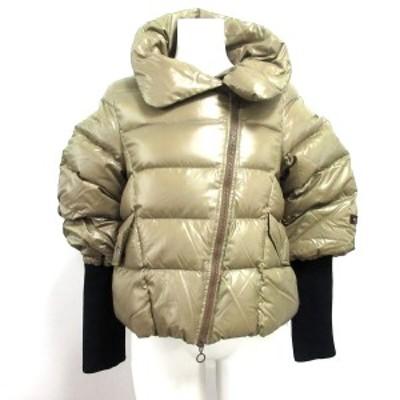 タトラス TATRAS ダウンジャケット サイズ02 M レディース LTA-4143-11 カーキ 冬物【中古】20210214