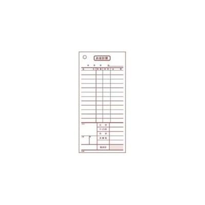 大黒工業 会計伝票 2枚複写 K607 50枚組×10冊入 PKIB101