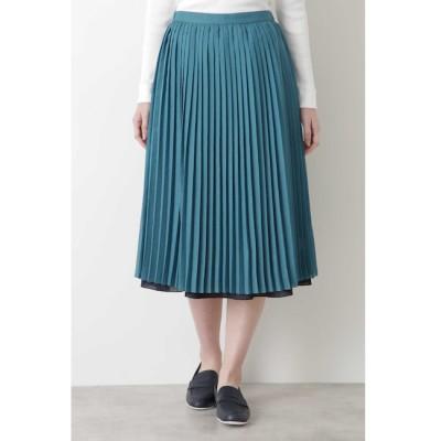 【ヒューマンウーマン/HUMAN WOMAN】 ◆リバーシブルスカート