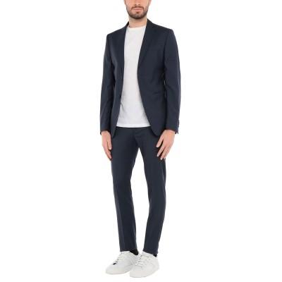 BARBATI スーツ ダークブルー 52 ウール 100% スーツ