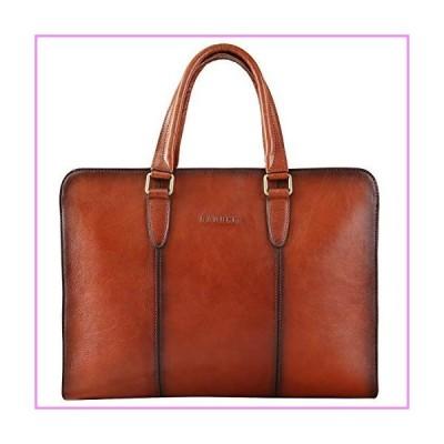 【送料無料】Banuce Full Grains Italian Leather Briefcase for Women Handbags Attache Case 14 Inch Laptop Business Bags Satchel Purses L